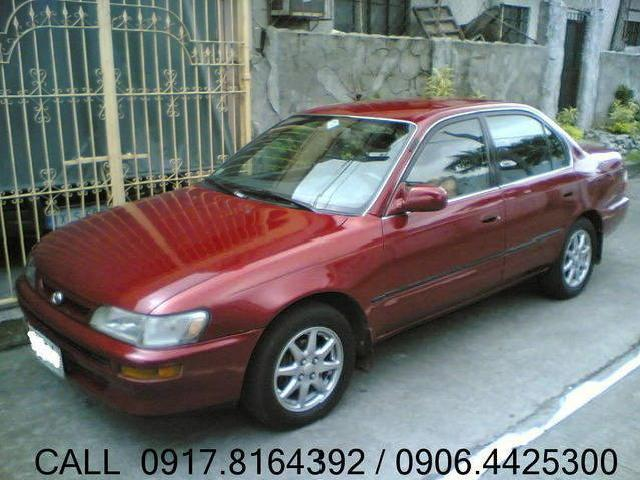 <strong>96</strong> <strong>Corolla</strong> Gli A/t 205k Only! Rush!