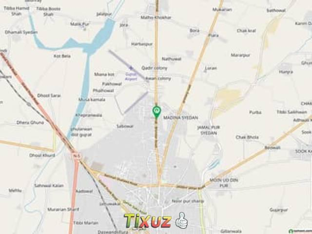 A 1200 Square Feet Flat Located In Bhimber Road Is Available For Rent