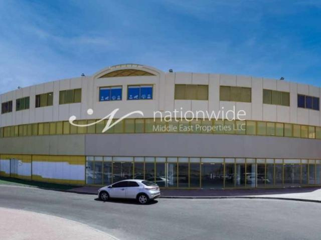 A Spacious Showroom With Ample Of Natural Light