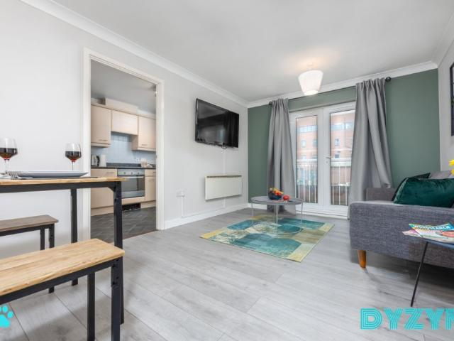 A Lovely Apartment With Brilliant Facilities In Cardiff Bay