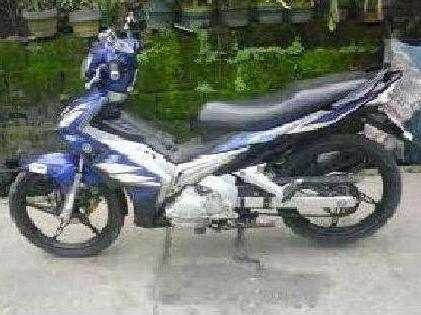 A very affordable yamaha sniper 135 for only so hurry grab it now