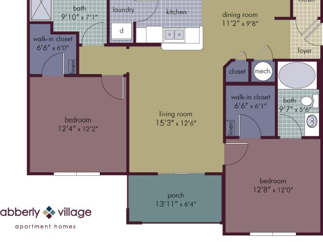 Abberly Village Apartment Homes Sapphire