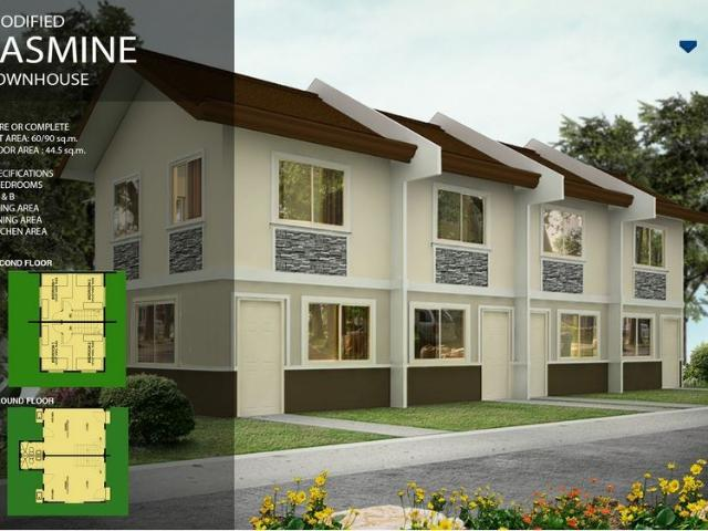 Affordable 2bedroom Townhouse In Tanauan City Available Thru Pagibig Financing