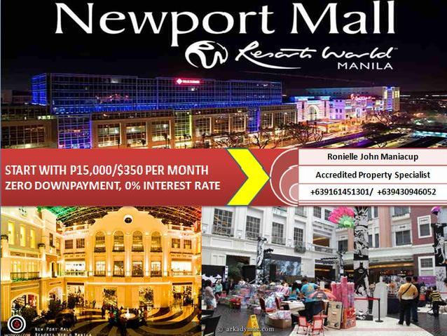 Affordable High Quality Newport Resortsworld Condo Units