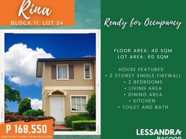 Affordable House And Lot For Sale In Bacoor Cavite