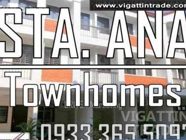Affordable House And Lot For Sale In Sta Ana Manila Near Makati