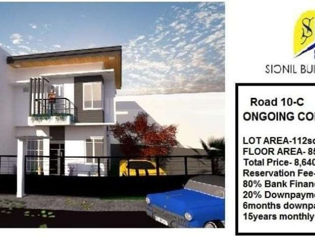 Affordable House And Lot For Sale In United Paranaque 5, On Going Construction