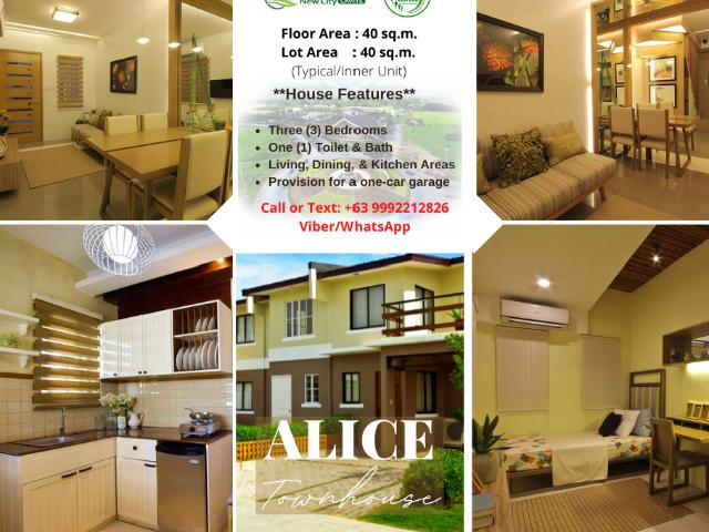 Affordable House & Lot For As Low As Php13k/monthly