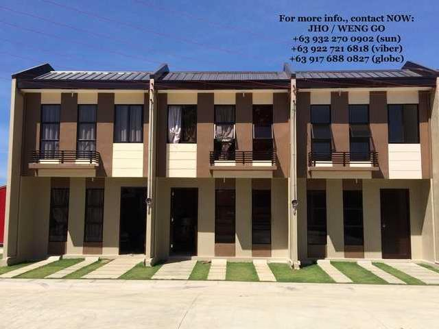Affordable Townhouse Back Of Mactan Airport Rent To Own