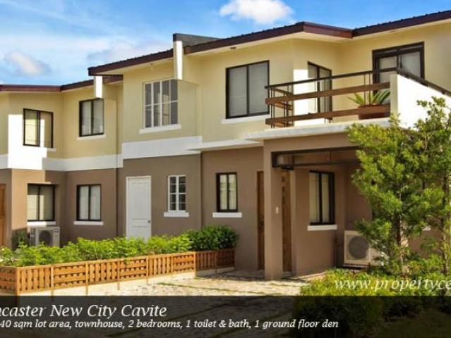 Alice Model House At Lancaster New City Ready For Occupancy Townhouse At Cavite