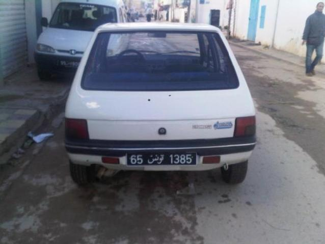 Annonce voiture peugeot essence 1992 250 000 km 6 500 dt tunis ahaya tn