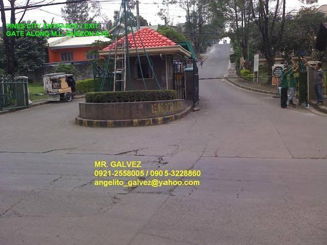 Antipolo City Lot For Sale @ P3,500/sqm. Pines City