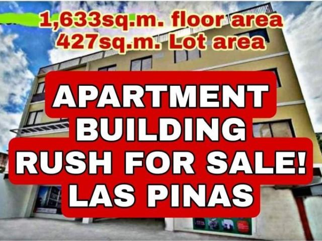 Apartment Building For Sale In Las Pinas 30 Units With Commercial