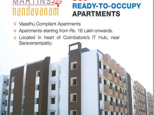 Apartments In Coimbatore For Sale
