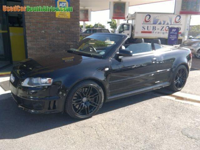 Audi RS4 Used Cars in Western Cape - Mitula Cars