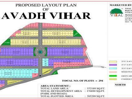 Avadh Vihar Plots Affordable Price Call @ 9560090101