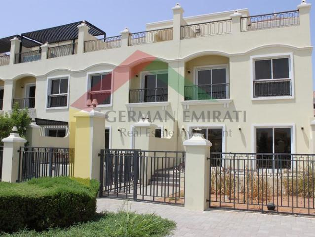 Bayti 3 B/r + Maids Room Townhouse For Rent
