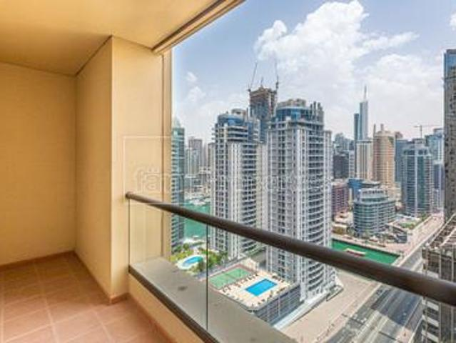 Beautiful 1 Br / Fully Furnished / Marina View