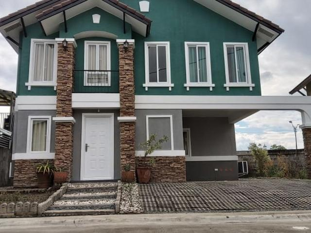 House And Lot For Sale In Bellefort Estates, Bacoor, Cavite Vivienne Model