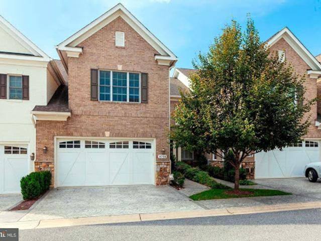 Bethesda Four Br 4.5 Ba, Spectacular & Newer Townhouse Located I