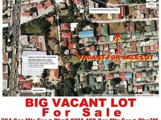 Big Vacant Lots For Sale In Imus, Cavite, Philippines