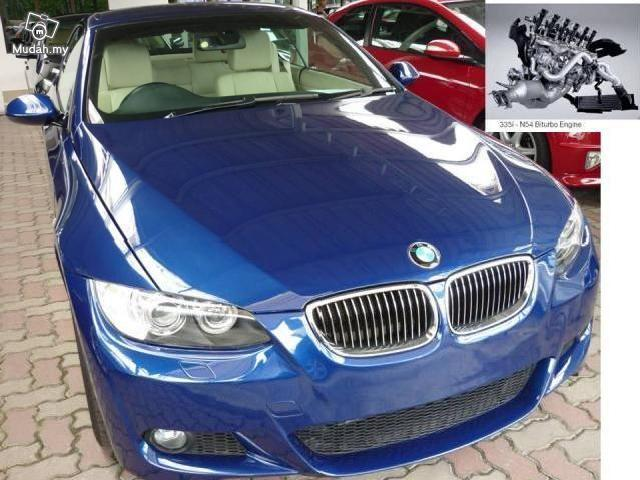 Bmw 335i coupe cabriolet m sport 2007 unreg