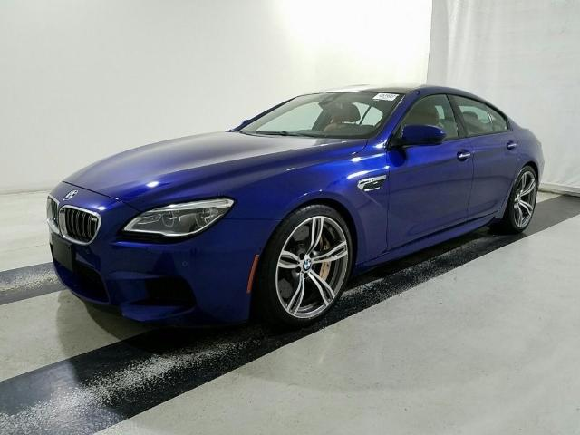 BMW M6 Coupe In Blue