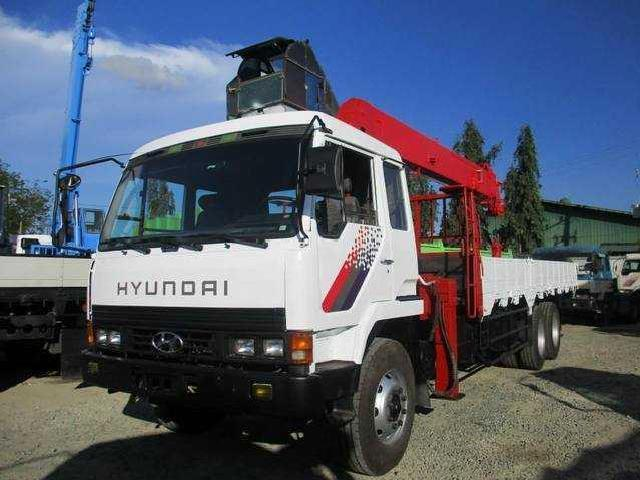 Boom truck cargo crane 11 tons crane capacity 6 section boom 10 wheeler