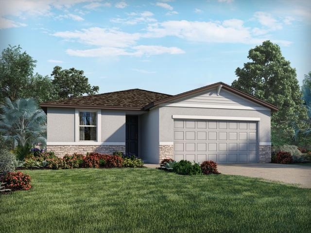 Brand New Home In Haines City, Fl. 3 Bed, 2 Bath