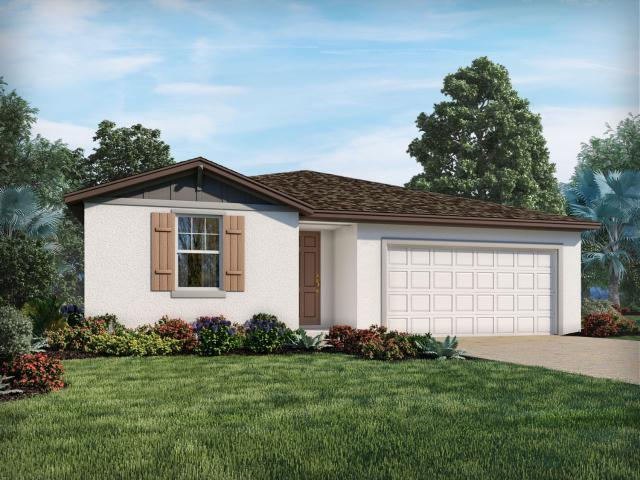 Brand New Home In Haines City, Fl. 4 Bed, 3 Bath