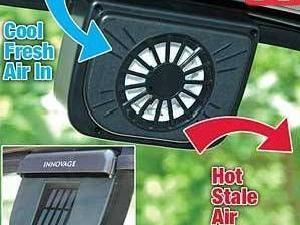 "Brand New Solar Auto Cool Fan ""as Seen On Tv"""