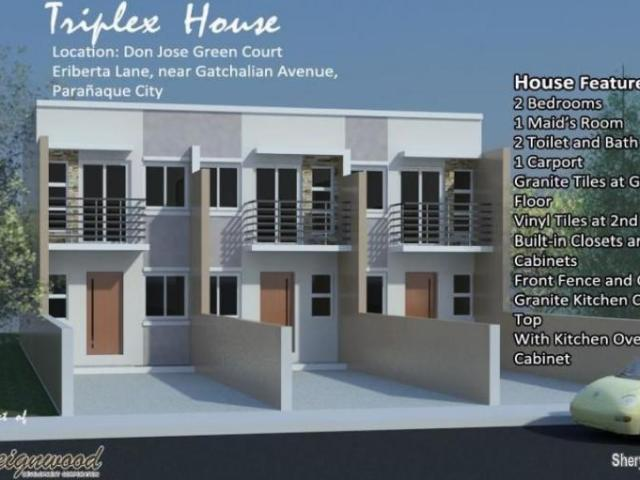 Brand New Townhouse For Sale Near Sucat Road Paranaque City