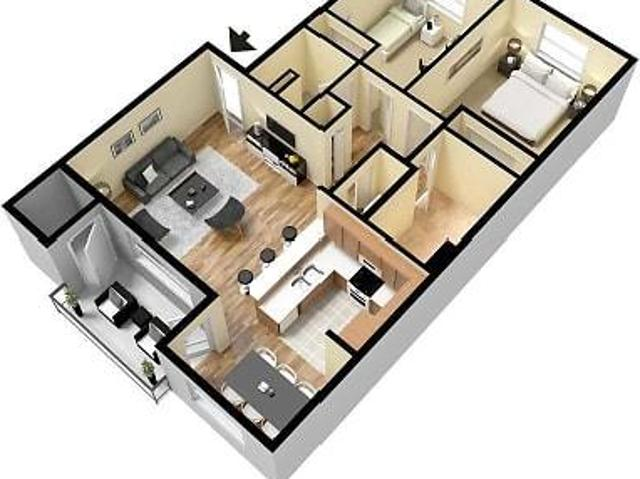 Brittany Greens Apartments 2 Bed 1 Bath