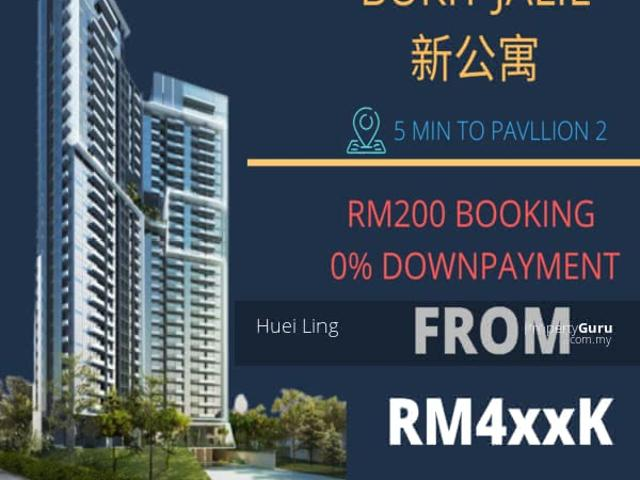 Bukit Jalil Next To Pavaillion 0% Downpayment Only Rm500 Booking