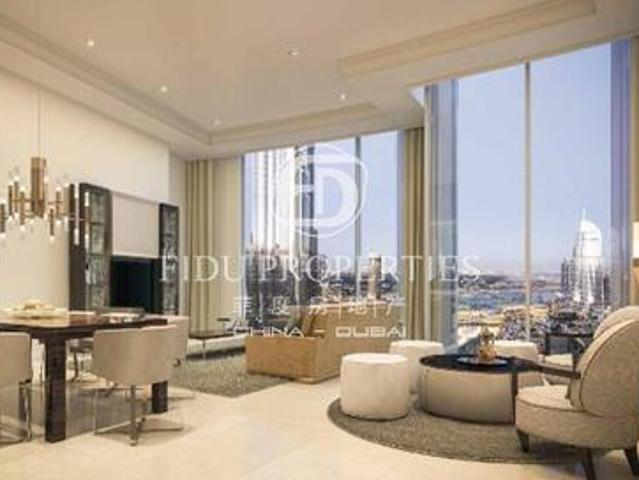 Burj And Fountain View  Dld Waiver   Handover Soon