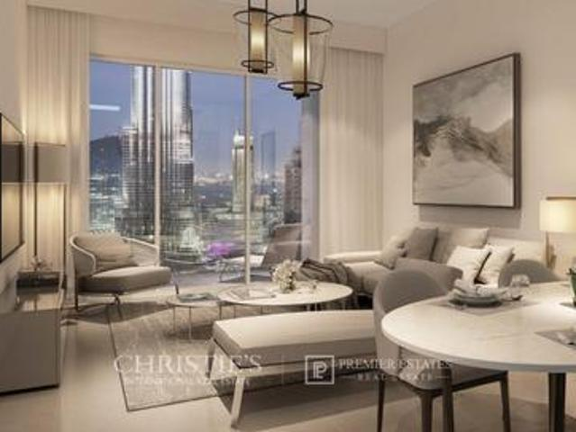 Burj And Fountain View I High Floor I 2 Bedroom