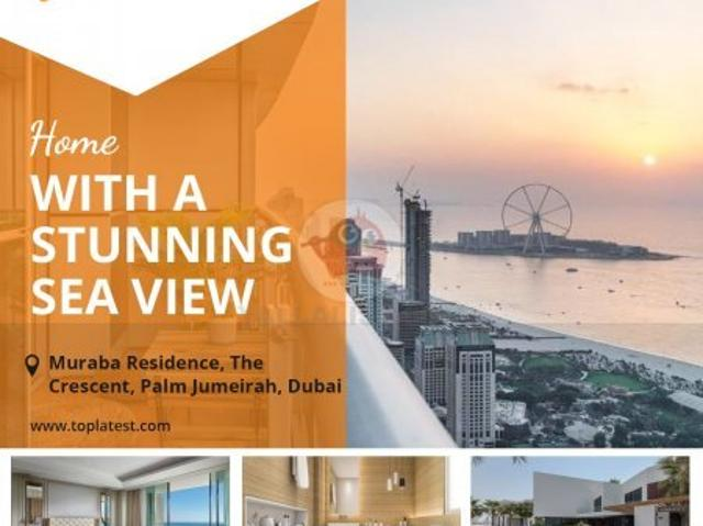 Buy Your Dream House With Stunning Sea View! Aed 1