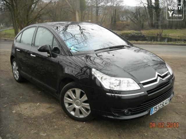 citroen c4 hdi 138 exclusive noir
