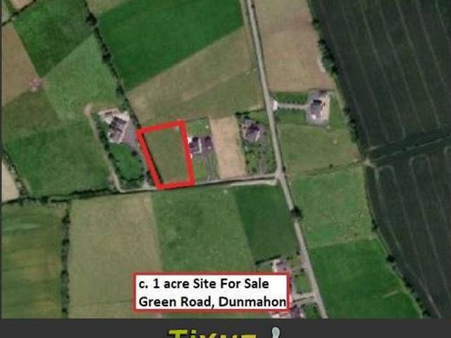 C 1 Acre Site At Green Roaddunmahondromiskinco Louth