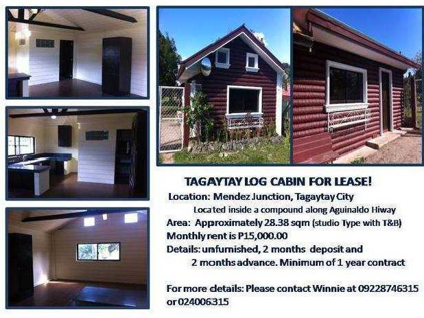Apartment For Rent In Tagaytay Monthly