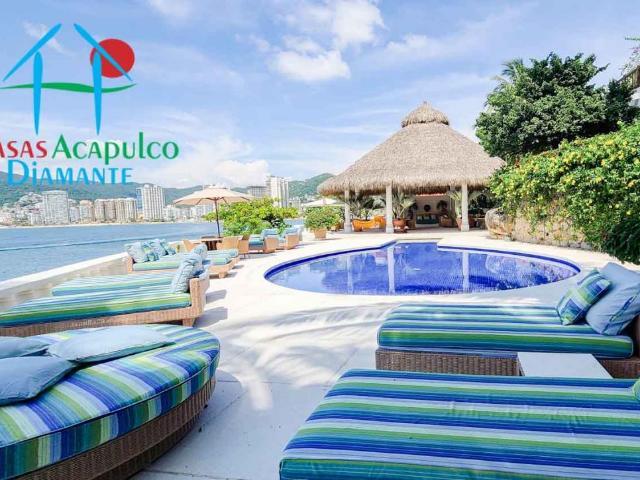 Cad Villa Alejandra Playa Privada, Alberca, Palapa Ceremonia