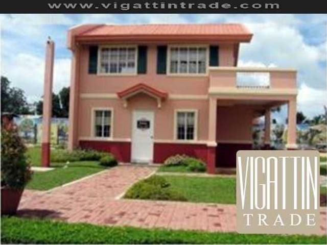 Camella Homes Teresa House And Lot Near In School, Church 4bedroom