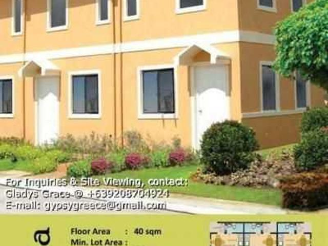 Camella Trece Reana Townhouse With 2 Bedrooms 7k Monthly
