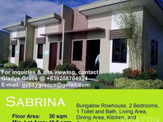 Camella Trece Sabrina Model With 2 Bedrooms @ 6k Monthly