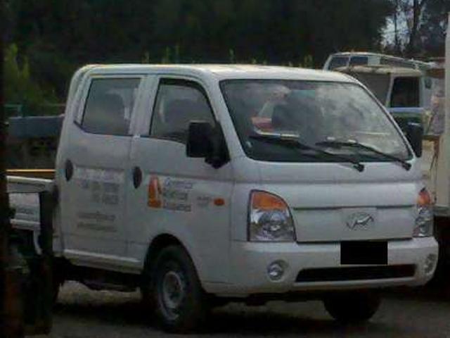 Camioneta Hyundai Doble Cabina Modelo Porter
