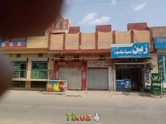 Canal Road Comercial House Double Storry For Rent