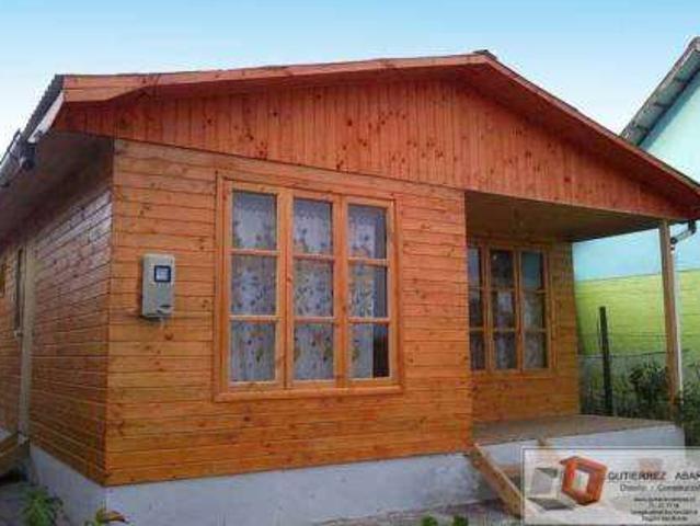 Casas Y Cabañas Prefabricadas 100 M2 Gutierrez Abarza