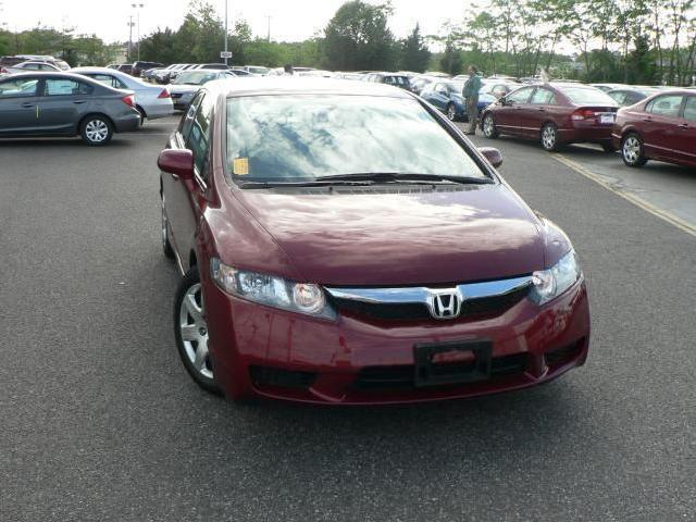 Red 2010 honda civic sedan used cars in new jersey for Honda civic certified pre owned