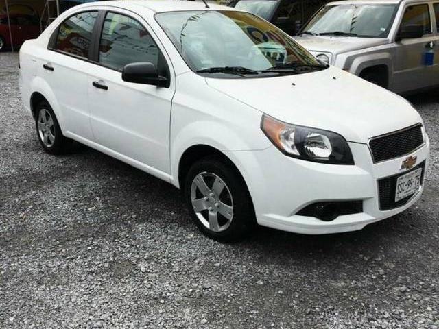 Chevrolet Aveo Ls En Nuevo Len Chevrolet Aveo Ls Automatico 2014
