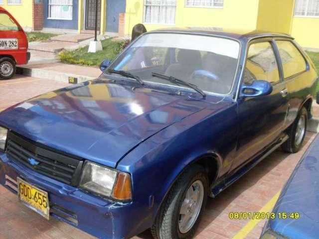 Chevrolet chevette coupe modelo 1982 impuesto al dia